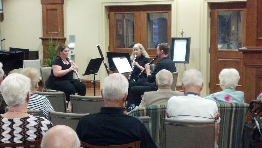 Chamber Music at The Westhill - September 2014